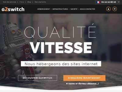 Hébergement WordPress O2Switch